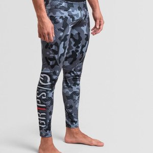 GR1PS - GRIPS Gr1ps Combat Spats Legging Night Camo Grips BJJ Fightwear