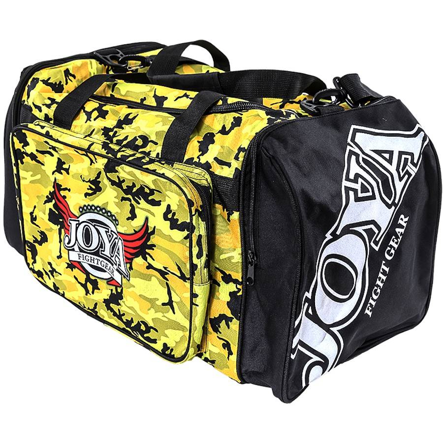 e51f237124 Joya Gymbag Camo Black Yellow Joya Fight Store