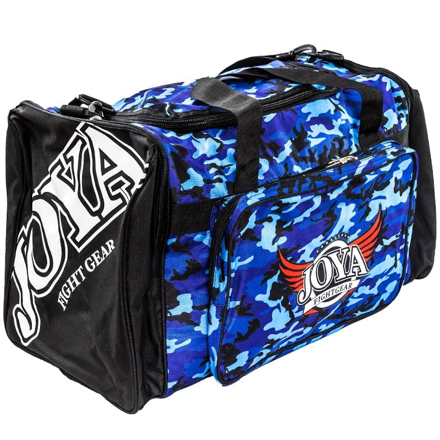 429f9f8202 Joya Gymbag Camo Black Blue Joya Fight Gear