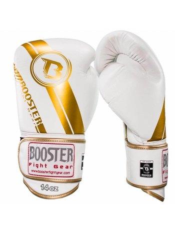 Booster Booster Pro Range Boxing Gloves BGL 1 V3 White Gold Foil