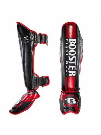 Booster Booster Pro Range BSG V 3 Kickboxen Schienbeinschützer Red Foil