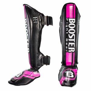 Booster Booster Dames Kickboks Scheenbeschermers Pink Foil Pro Range BSG V 3