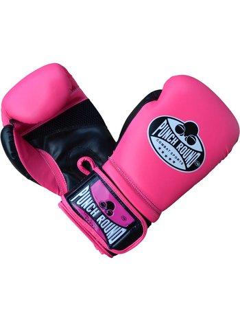 Punch Round™  Dames BokshandschoenenPunch Round Combat Sports Roze