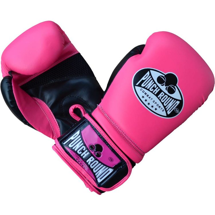 Ladies Boxing Gloves Pink