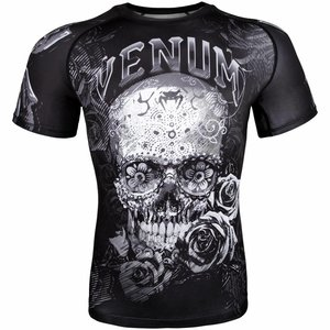 Venum Venum Rash Guards Santa Muerte 3.0 S/S Venum Fight Store