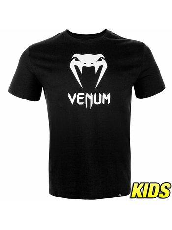Venum Venum Kleidung Classic T Shirt Schwarz Kinder