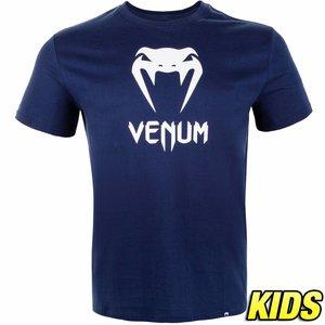 Venum Venum Kleidung Classic T Shirt Kinder Navy Blau