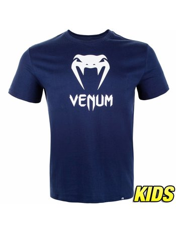 Venum Venum Clothing Classic T Shirt Kids Navy Blue