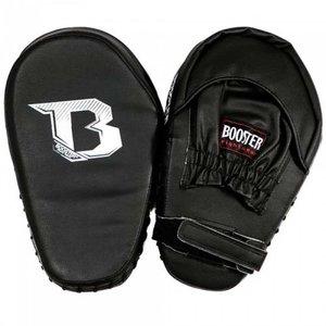 Booster Booster PML BC 2 Schwarz Pad Pads Muay Thai Gebogene Handschuhe