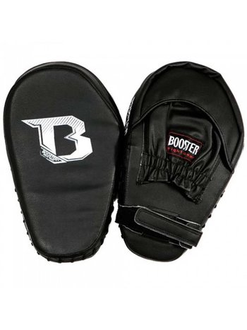 Booster Booster PML BC 2 Black Stootkussen Pads Muay Thai Curved Mitts