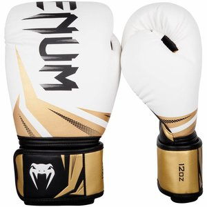 Venum Venum Martial Arts Gear Boxhandschuhe Challenger 3.0 Weiß Gold