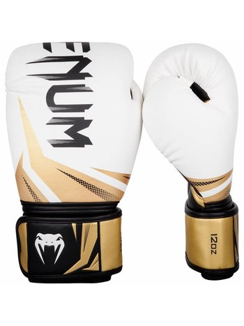 Venum Venum Martial Arts GearBoxing Gloves Challenger 3.0 White Gold