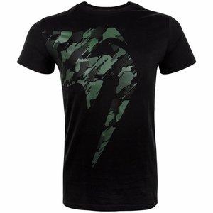 Venum Venum Tecmo Giant T Shirt Khaki Black Venum Vechtsport Shop