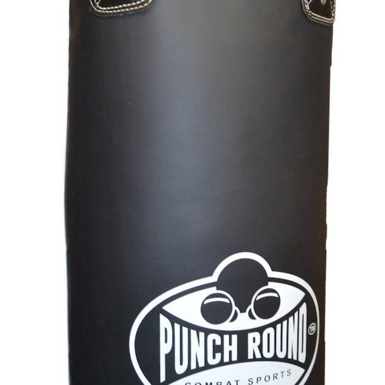 Punch Round™  Punch Round ™ Punching bag Vinyl 180x35 filled incl Necklace Black White