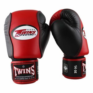 Twins Special Twins Boxing Gloves BGVL 7 Red Black Muay Thai Gloves