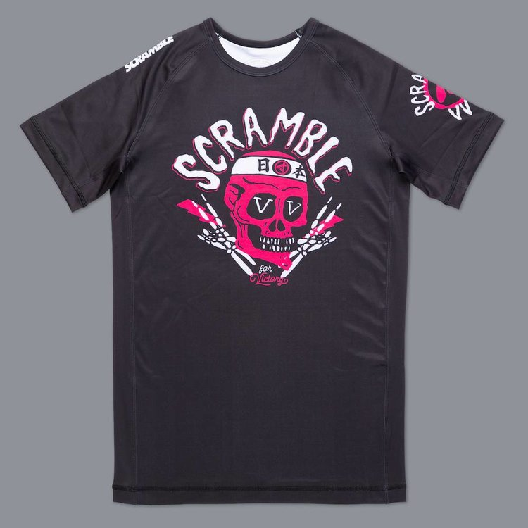 Scramble SCRAMBLE VV for Victory Rash Guard S/S Black