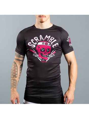 Scramble SCRAMBLE VV for Victory Rash Guard S/S Black