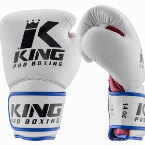 King Pro Boxing King Pro Boxing Kickboxing Boxing Gloves KPB/BG Star 1 Leather