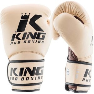 King Pro Boxing King Pro Boxing Kickboxing Boxing Gloves KPB/BG Star 2 Leather