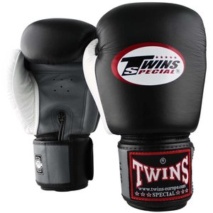 Twins Special Twins Fight Gear Boxing Gloves BGVL 4 Black Grey White
