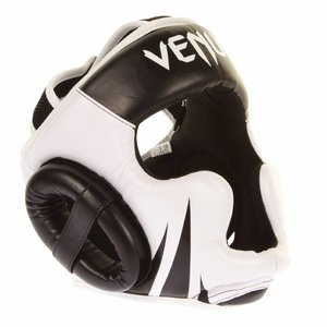 Venum Venum Gear Challenger 2.0 Headgear Black White Venum Europe