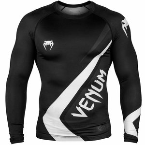 Venum Venum Contender 4.0 Rash Guard L/S Black Grey White