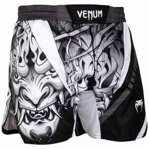 Venum Venum Devil Fightshorts White Black Venum Fightstore Europe
