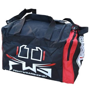 22b194aa42 Fightwear Shop FWS Martial Arts Training Sports Bag Kids Black Red White