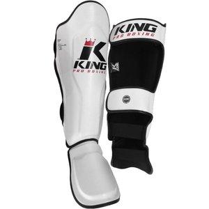 King Pro Boxing Schienbeinschöner KickboxenKing Pro Boxing KPB/SG 3 Weiß