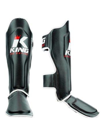 King Pro Boxing Kickboks Scheenbeschermers King Pro Boxing KPB/SG 1 Zwart