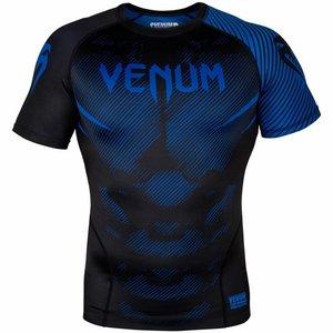 Venum Venum NOGI 2.0 Rashguard S/S Zwart Blauw