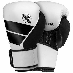 Hayabusa Boxing Gloves Hayabusa S4 White Kit with Boxing Hand Wraps