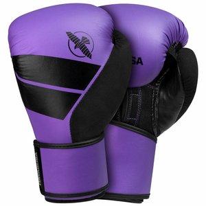 Hayabusa Purple Boxing Gloves Set Hayabusa S4 Boxing incl Hand Wraps