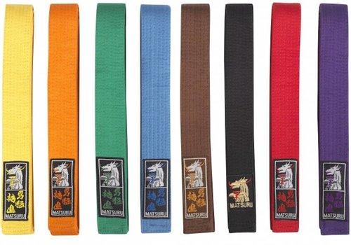 Budo Belts Karate Judo etc ..