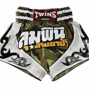 Twins Special Twins Thai Kickboks Broekje TTBL 78 Fancy Camo Thai Short