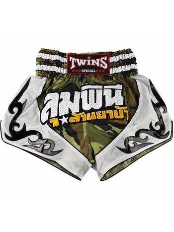 Twins Special Twins Camo Thai Kickboxing Short TTBL 78 Twins Fightwear