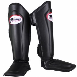 Twins Special Twins Kickboxing Shin Guards SGL 7 Black