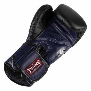 Twins Special Twins Boxing GlovesBGVL 6 Black Blue by Twins Fightgear