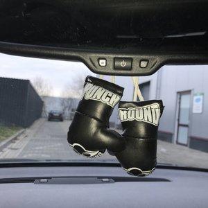 Punch Round™  Punch Round Mini Carhanger Bokshandschoentjes