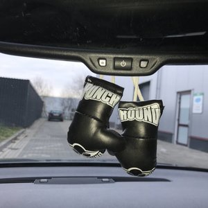 Punch Round™  Punch Round Mini Carhanger Boxing gloves