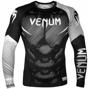 Venum Venum BJJRashguard NOGI 2.0 L/S Black White Venum Shop EU