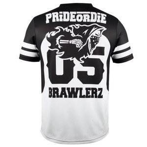 Pride or Die Pride or Die Dry Fit Brawlerz T Shirt All Sports