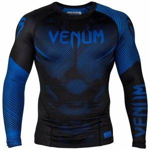 Venum Venum Compression Shirts NOGI 2.0 Rashguard L/S Black Blue