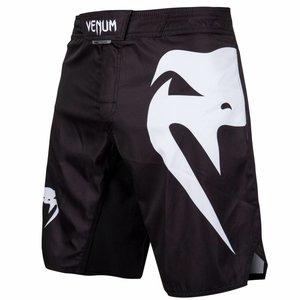 Venum Venum Light 3.0 MMA Fightshorts Zwart Wit MMA Kleding