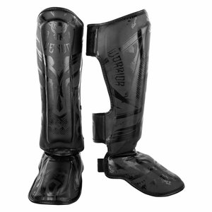 Venum Venum Kickboxing Shinguards Gladiator Black Black