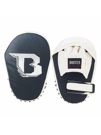 Booster Booster PML B Kickbox Pads Muay Thai Curved Mitts Zwart Wit