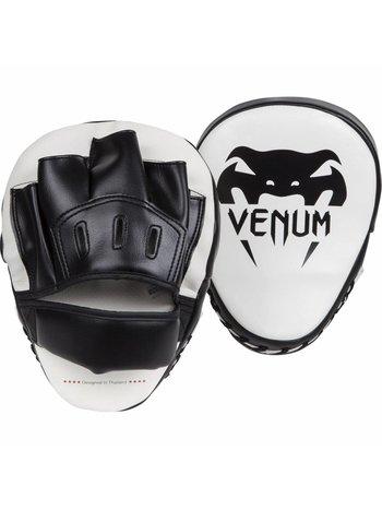 Venum Venum Light Focus Mitts Wit Zwart Venum Gear