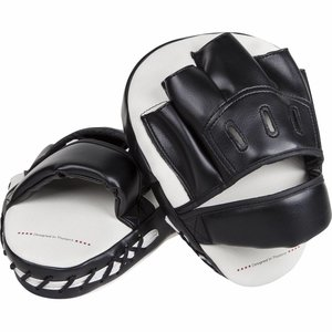 Venum Venum Light Focus Mitts White Black Venum Gear