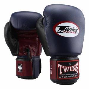 Twins Special Twins Muay Thai Gloves BGVL 4 Bokshandschoenen Blue Wine Red Black