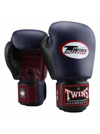 Twins Special Twins Muay Thai Gloves BGVL 4 Boxing Gloves Blue Wine Red Black